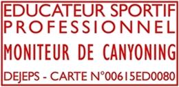 Logo Titolo DEJEPS della Guida di WT Canyoning Piemonte