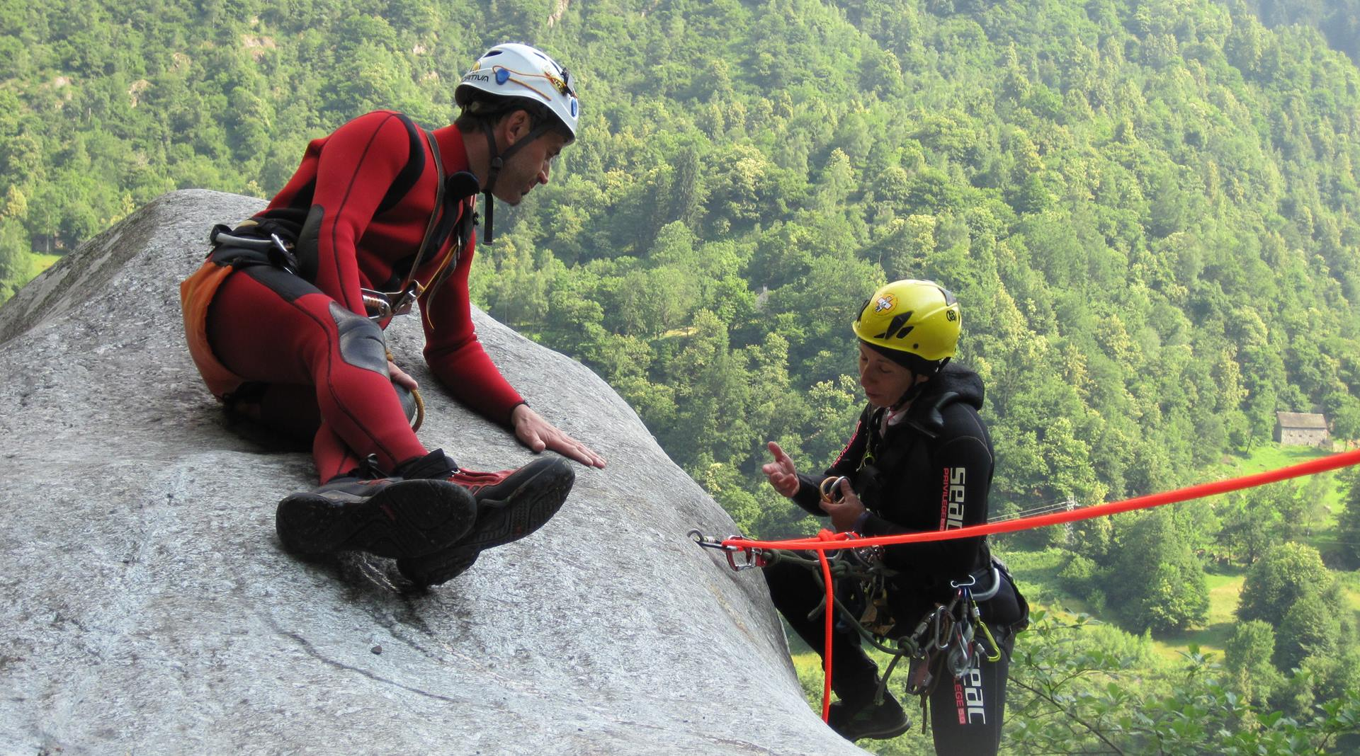 Corso canyoning Intermediate